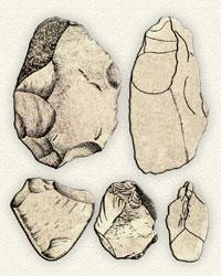 Tools of the Quruchai culture