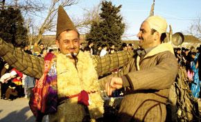 Kosa and Kechel - spring spirits in Amirjan