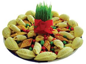 Khoncha - the traditional Novruz sweets