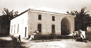 Fizuli City. Haji Alakbar Mosque (1889-1990)