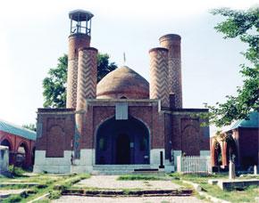 Barda. Sheikh Ibrahim Mosque (1868)