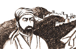Architect Karbalayi Safikhan Qarabaghi (1817-1910). Picture by Rizvan Q.