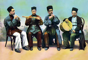 Musicans. Early 20th century