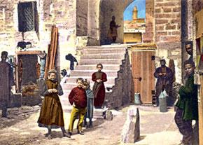 Near the Small Caravanserai. Late 19th century