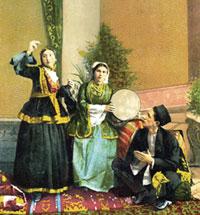 Baku wedding. Early 20th century