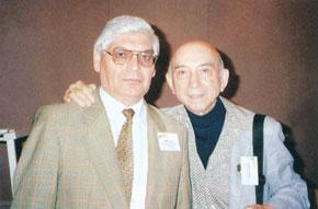 Professor Lotfi Zadeh with professor Rafiq Aliyev