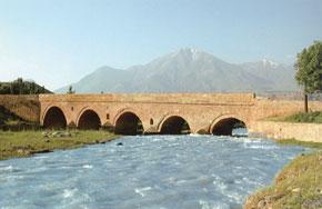 Aza Bridge on the Silk Road (1826)