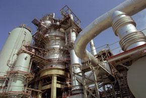 Gas compressor in Azerbaijan