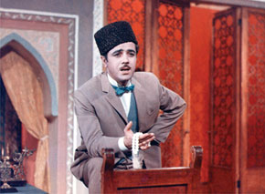 Actor Hasan Mammadov performs Askar in Arshin Mal Alan (1965)