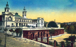 Summer club, the Public Assembly Building, now the Azerbaijan State Philharmonic Hall