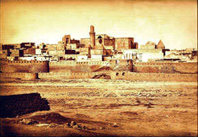 Baku in 1876. In 1883 the second fortress walls were erected