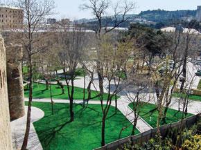 Present view of the Philharmonic garden