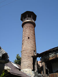 Old mosque in Saribash