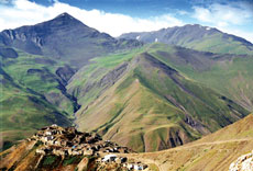 Three Mountain Villages Xinaliq, Lahij and Saribash
