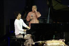 Alim Qasimov and Shahin Novrasli in Baku's Green Theatre, September, 2007