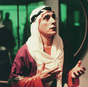 Alim Qasimov in the role of Mejnun in Uzeyir Hajibayov´s