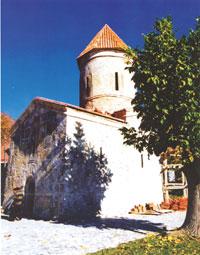 The Apostolic Church of St Eliseus in Kish, during restoration