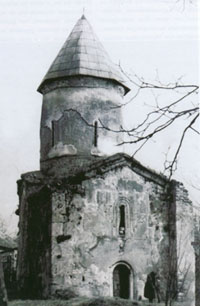 The apostolic church in the village of Kish, 1st to 4th centuries