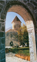 KISH CHURCH one of the oldest churches in the Caucasus