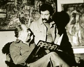 Tofiq Quliyev with Vagif Mustafazadeh, Azerbaijani master of jazz