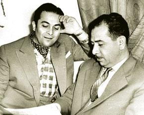 Rashid Behbudov, USSR Public Artist, was a legendary performer of Tofiq Quliyev´s music