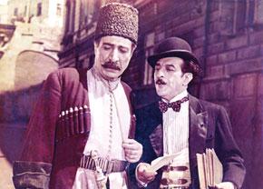 """Rustam bey"" – Agasadiq Garaybayli, ""Hasan bey"" – Mustafa Mardanov"