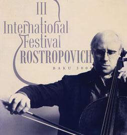 Third International Rostropovich Festival