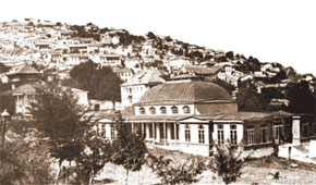 General view of Shusha before 1905