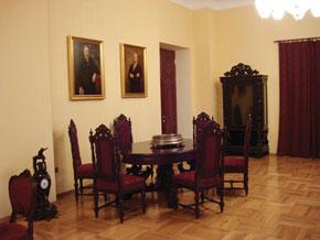 Inside the restored Villa Petrollea