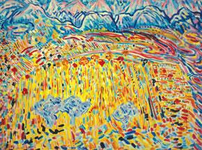 GoyGol, oil on canvas, 1972
