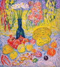 Jorat melons, oil on canvas. 1964