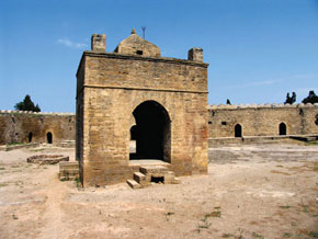 Atashgah – a fire temple in Surakhani, Baku