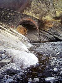 Sulu tapa (Wateryhill) bridge, Qakh District