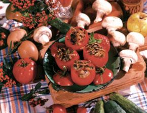 Pomidor (tomato) dolma