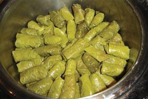 Yarpag (vine-leaf) dolma