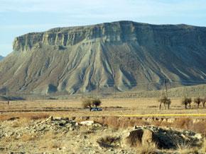 Julfa - Ordubad landscape