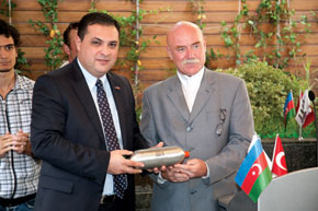 Gas from Elshad Nasirov, SOCAR Baku, delivered to Seymur agayev, SOCAR Istanbul