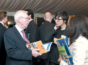 Guests discuss TEAS' publications