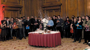 TEAS is launched to the Azerbaijani community in Britain, 24 November 2008