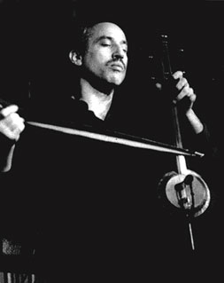 Jeffrey Werbock performs at a World Music Institute in New York in 1992