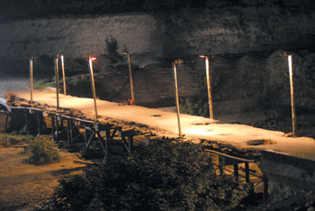 The symbolic bridge, a scene from the 40th Door