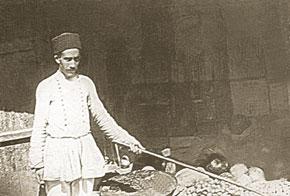 Fruit shop in Shusha, late 19th century
