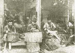Cobblers in Shusha, 19th century