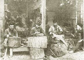 Cobblers in Shusha, 19th century
