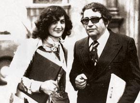 Qara Qarayev and Franghiz Alizadeh, Italy 1976