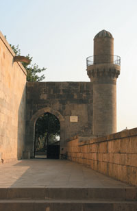 The entrance of the Shirvanshahs´ Palace Complex