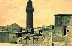 The Palace of the Shirvanshahs in the late 19th century