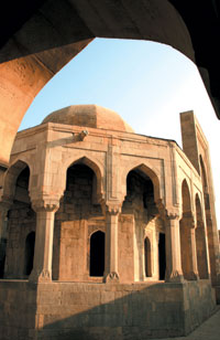The tomb built by Farrukh Yasar also known as the courtroom or divankhana