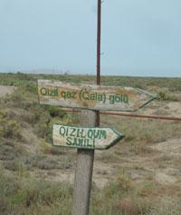 Park signposts