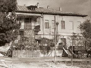 The house where Sorge was born in Sabunchu, Baku